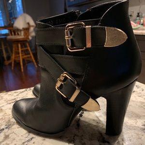Filipe Rivera leather ankle boots